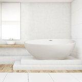 71 x 35 Freestanding Soaking Bathtub byStreamline Bath