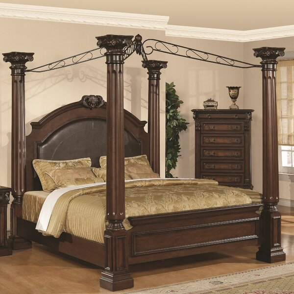 Payne Upholstered Canopy Bed by Astoria Grand