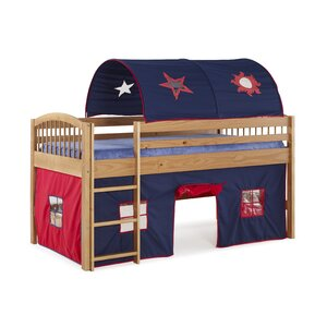 Abigail Twin Loft Bed with Tent
