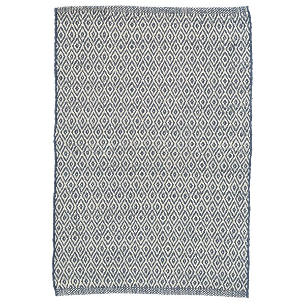 Crystal Blue Indoor/Outdoor Area Rug by Dash and Albert Rugs