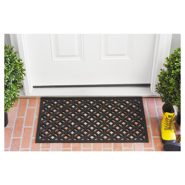 Krull Rubber Doormat by Winston Porter