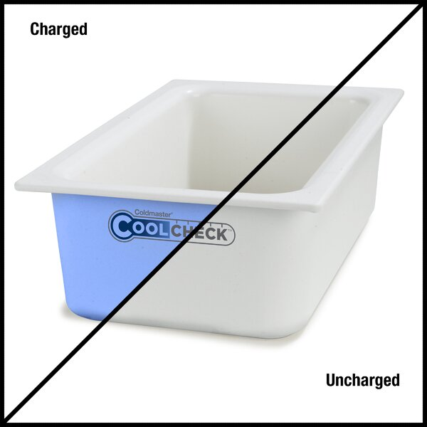 Coldmaster® Cool Check Food Pan 480 Oz. Food Storage Container by Carlisle Food Service Products