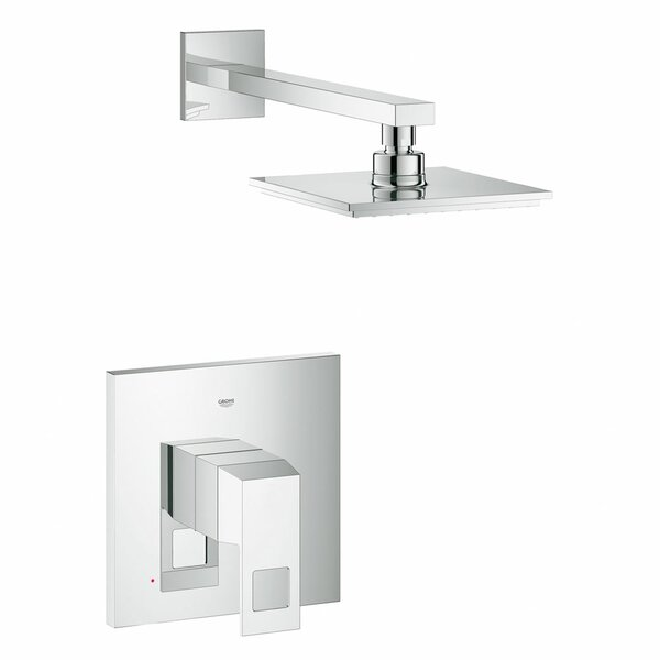 Eurocube Shower Combination Volume Control Shower Faucet by Grohe