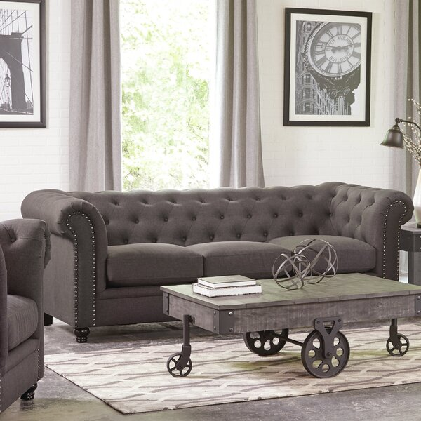 Trendy Vanallen Chesterfield Sofa by Darby Home Co by Darby Home Co