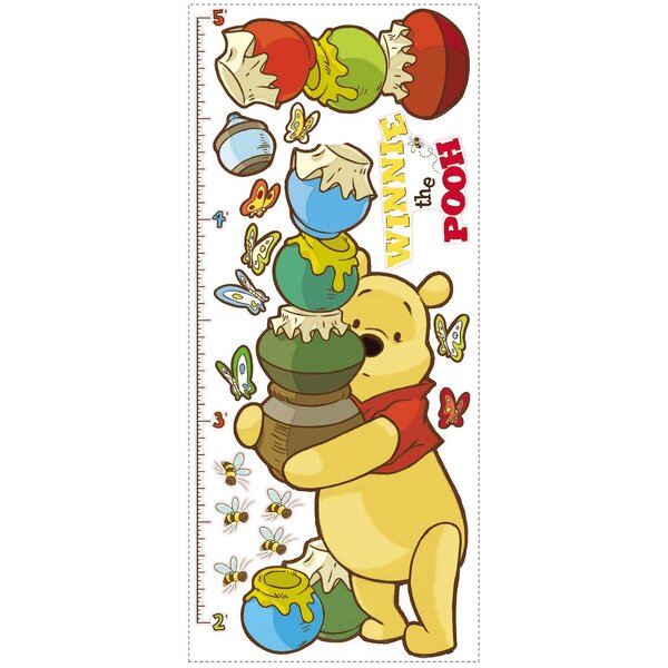 Licensed Designs Pooh Growth Chart by Room Mates