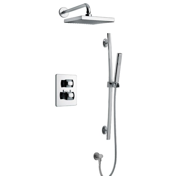 Lady Thermostatic Rain Complete Shower System by LaToscana
