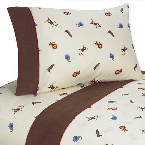 Jungle Time Sheet Set by Sweet Jojo Designs