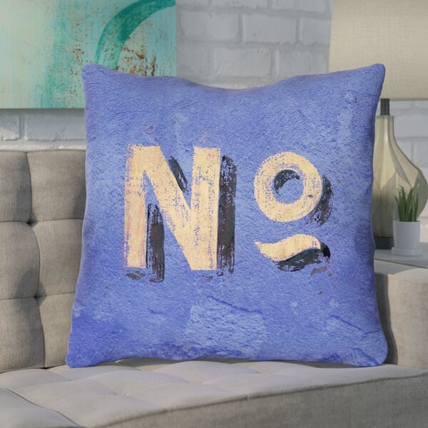 Enciso Graphic Wall Euro Pillow with Zipper by Brayden Studio