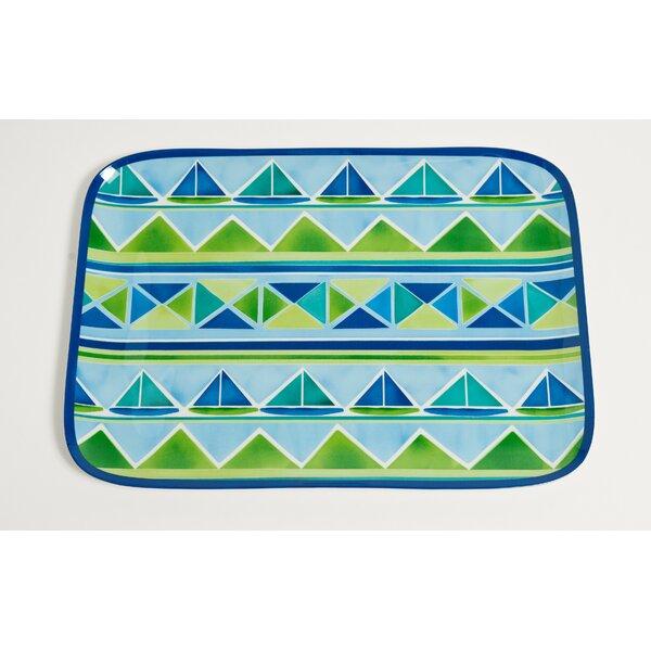 Sailin Melamine Platter by Galleyware Company