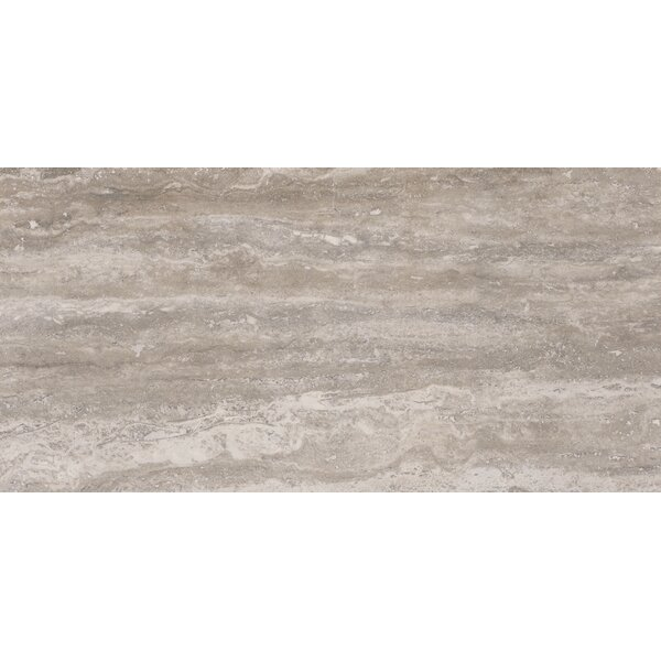 Pietra Venata 12 x 24 Porcelain Field Tile in Gray by MSI