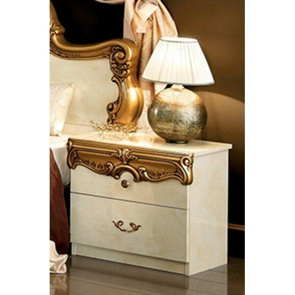 Straitson 2 Drawer Nightstand by Astoria Grand