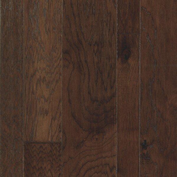 Welsley Heights 5 Engineered Hickory Hardwood Flooring in Mocha by Mohawk Flooring