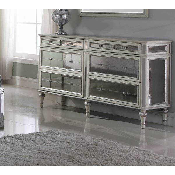 Lipsey 6 Drawer Double Dresser by Rosdorf Park