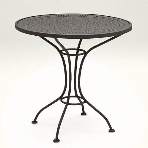 Parisienne Metal Dining Table By Woodard