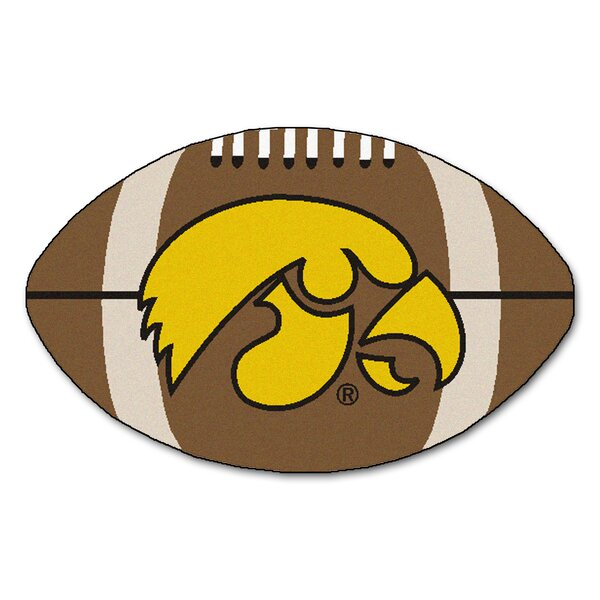 NCAA University of Iowa Football Doormat by FANMATS
