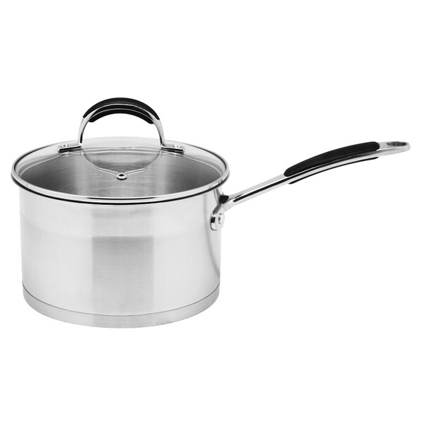 2.6-qt. Saucepan with Lid by Prime Cook