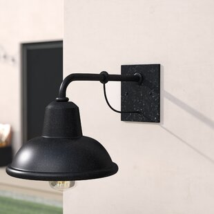 Top Reviews Escudilla 1-Light Outdoor Barn Light By Trent Austin Design
