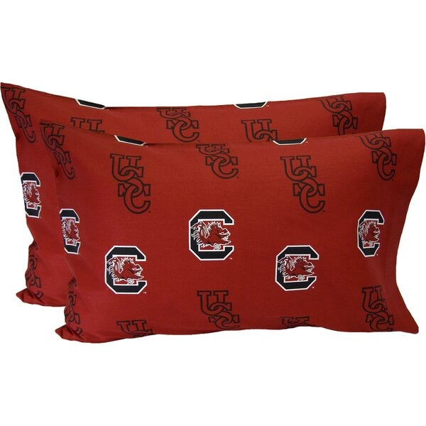 Collegiate NCAA South Carolina Gamecocks Pillowcase (Set of 2) by College Covers