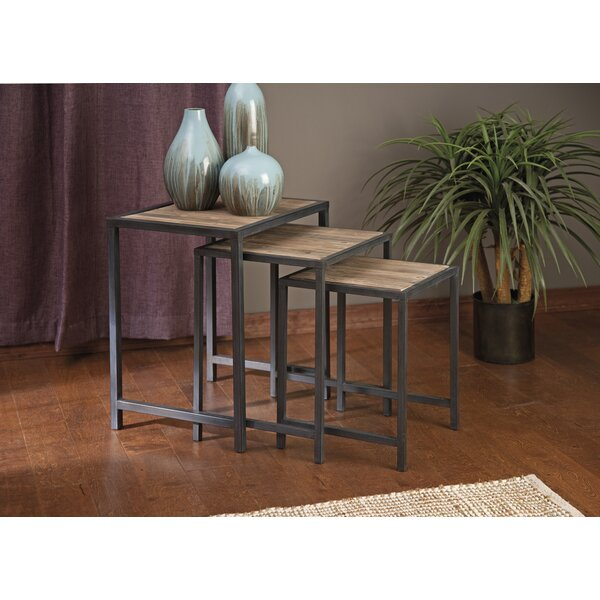 Elliott 3 Piece Nesting Tables Set by 17 Stories