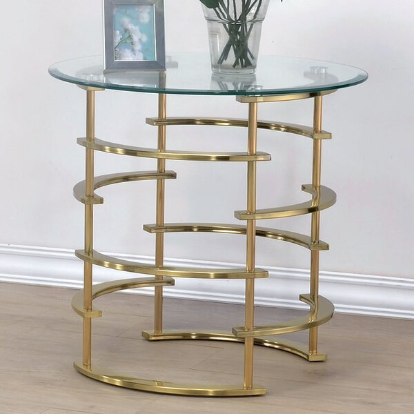 Scylla End Table by Orren Ellis