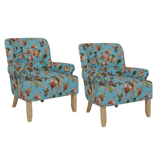 Romer Rolled Armchair (Set of 2) by Red Barrel Studio