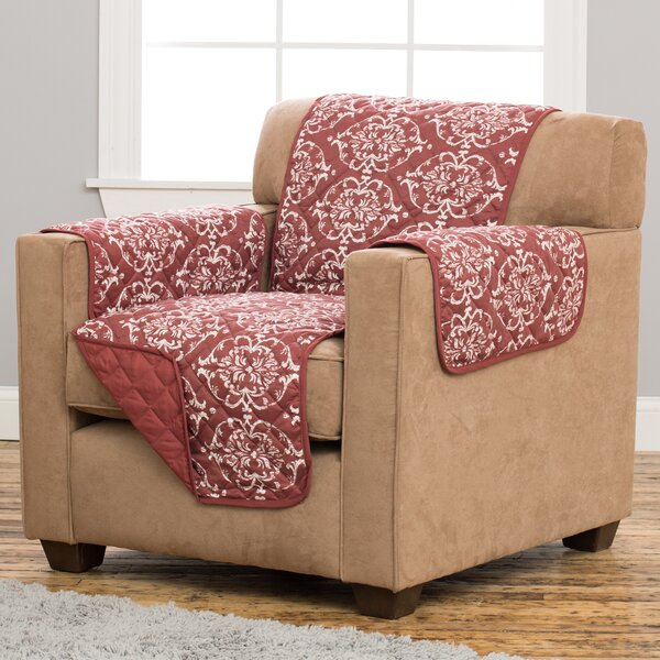 Kingston Box Cushion Armchair Slipcover by Home Fashion Designs