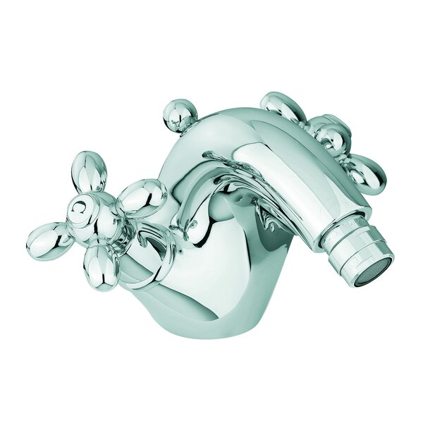Olivia Double Handle Horizontal Spray Bidet Faucet with Single Hole by Fima by Nameeks