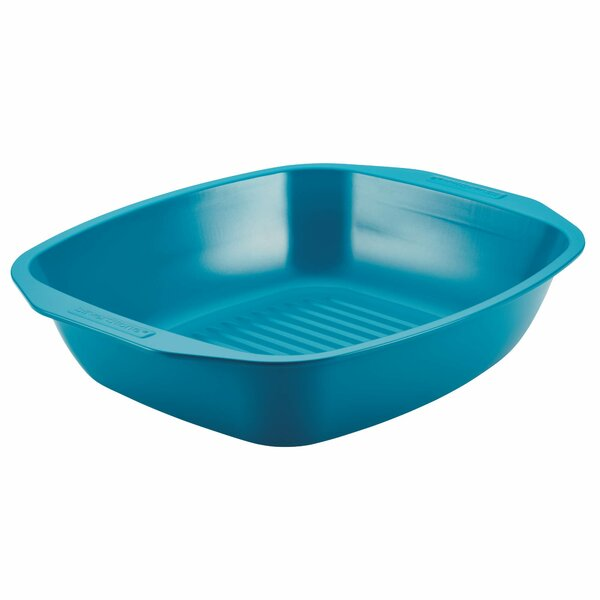 Hybrid 16 Ceramic Nonstick Bakeware Roaster with Self-Rack by SilverStone