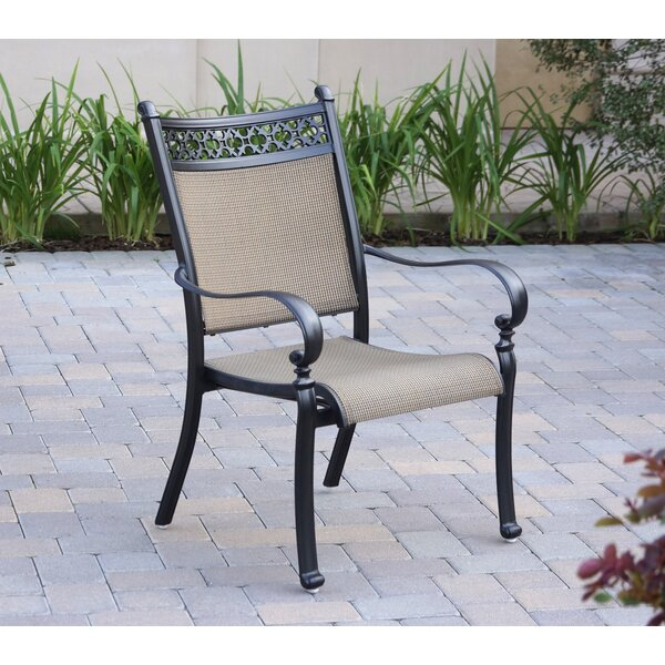 Curacao Stacking Patio Dining Chair (Set of 4) by Sol 72 Outdoor