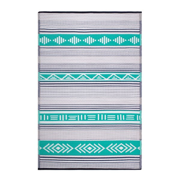 Swanson Green Indoor/Outdoor Area Rug by Union Rustic