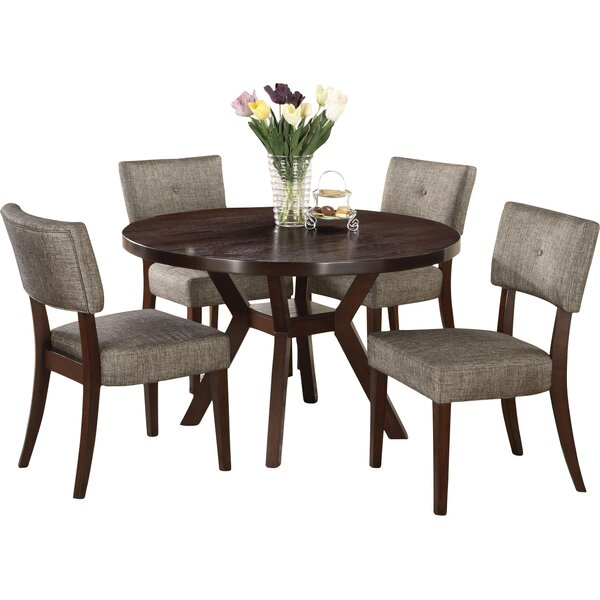 Kraemer 5 Piece Dining Set by Red Barrel Studio