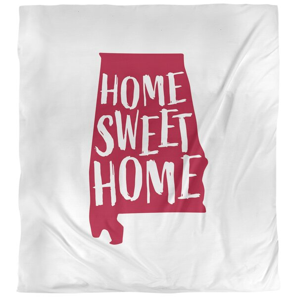 Home Sweet Alabama Single Duvet Cover