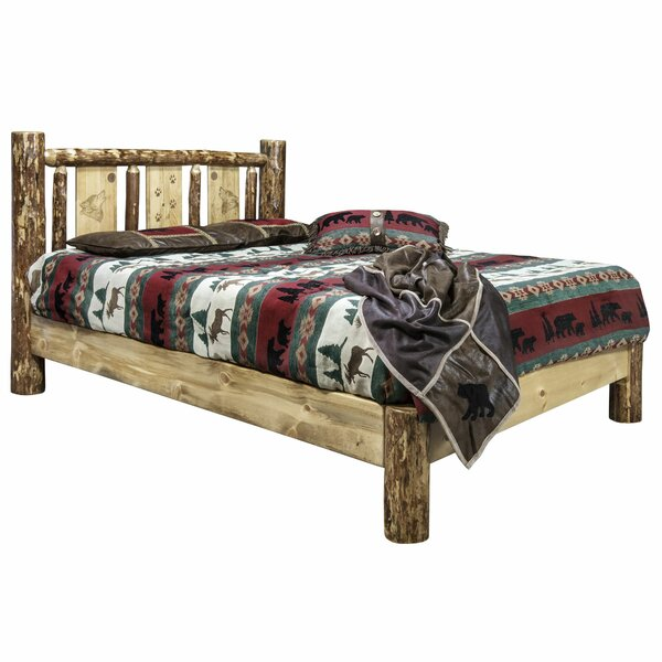 Shelley Wolf Platform Bed by Loon Peak