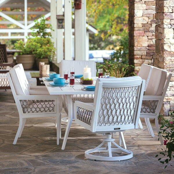 Echo Bay Teak Patio Dining Chair with Cushion by Eddie Bauer Eddie Bauer