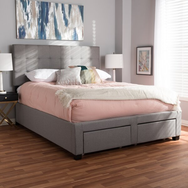 Eley Upholstered Storage Standard Bed by Wrought Studio