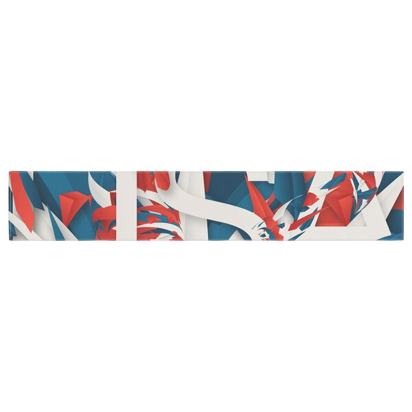 Danny Ivan USA World Cup Table Runner by East Urban Home