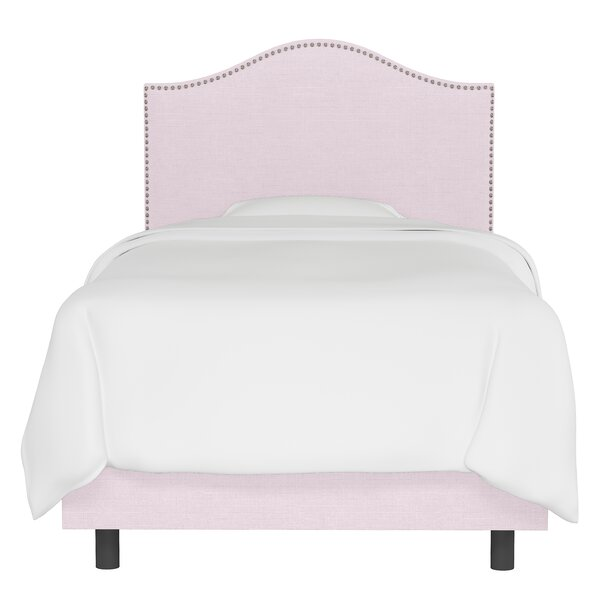 Fraley Nail Button Panel Bed by Harriet Bee