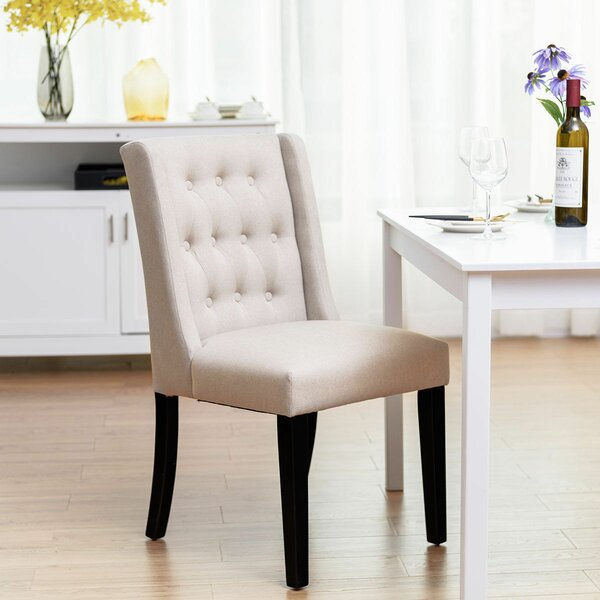 Ezio Upholstered Dining Chair (Set of 2) by Alcott Hill