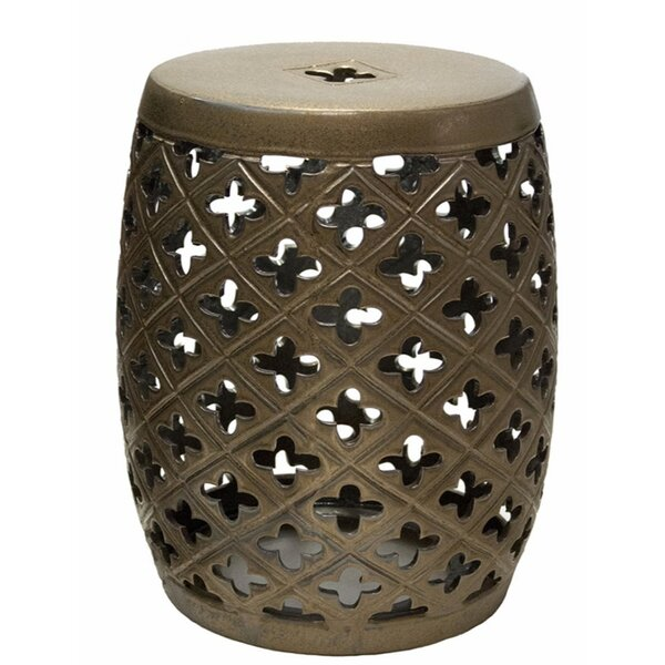 Reith Bloom Garden Stool by Charlton Home