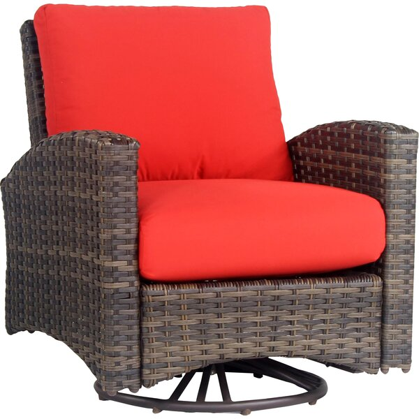 Allerone Patio Chair with Cushion by Bloomsbury Market