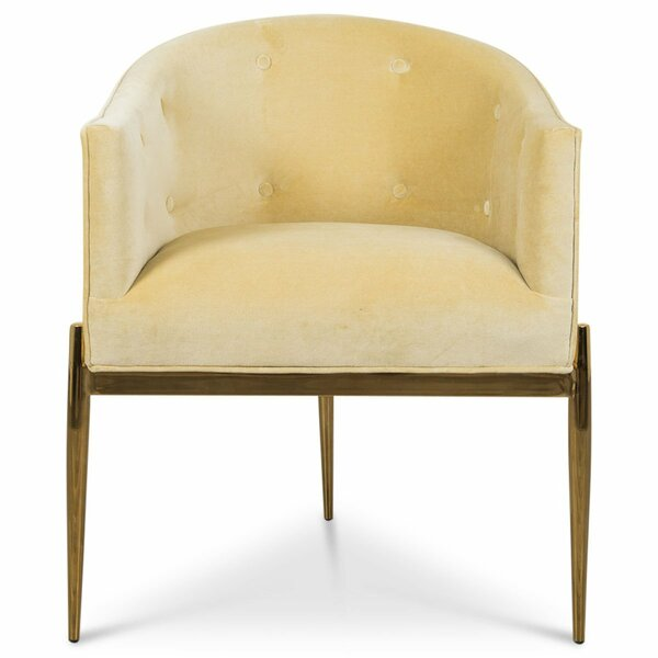 Art Deco Upholstered Dining Chair by ModShop ModShop