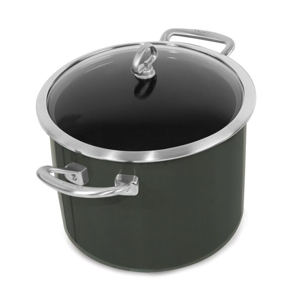 Copper Fusion 8-qt. Stock Pot with Lid by Chantal