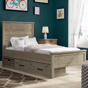 Stella Storage Panel Bed By Grovelane Teen