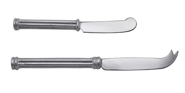 Classic 2 Piece Cheese Knife Set by Mariposa