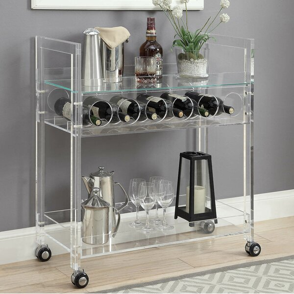 Gilivary Bar Cart by Orren Ellis