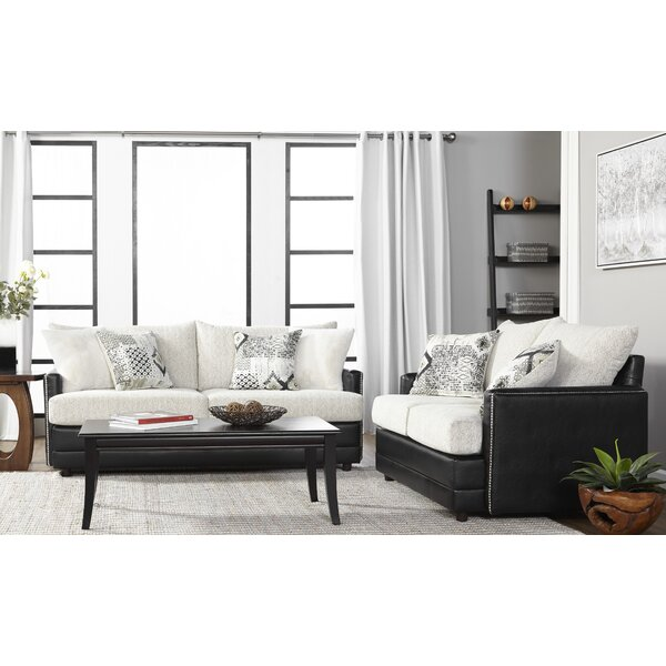 Meachum Ebony Sofa by House of Hampton