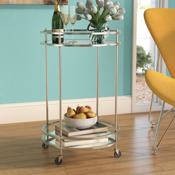 Huya Bar Cart by Wrought Studio Wrought Studio