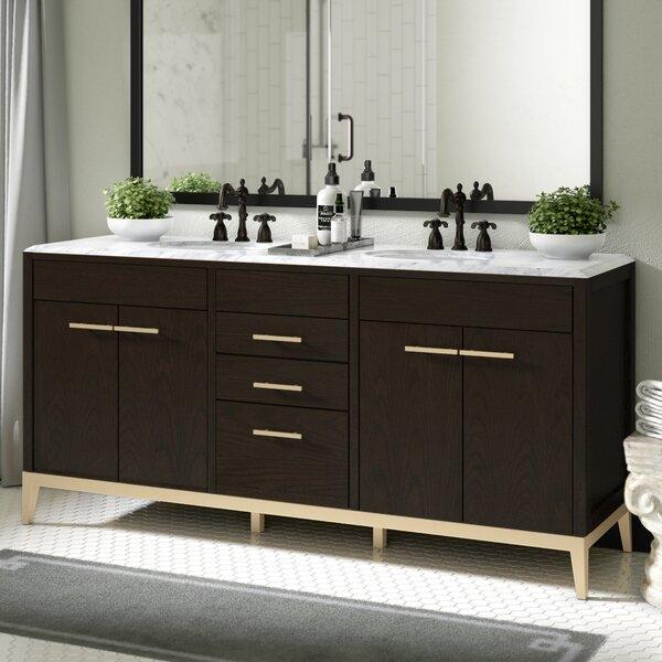Indianola 72 Double Bathroom Vanity Base Only
