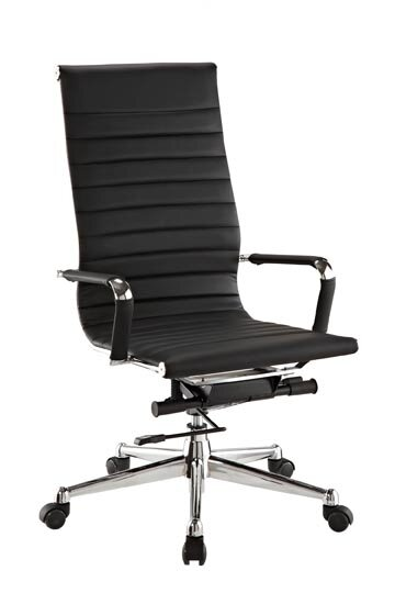 Pantera Leather Desk Chair by Flexsteel Contract