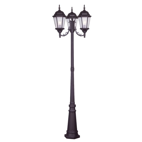 Busse Outdoor 3-Light 86 Post Light by Darby Home Co